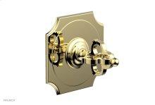"COURONNE 1/2\"" Mini Thermostatic Shower Trim 4-472 - Polished Brass"