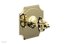 "COURONNE 1/2"" Mini Thermostatic Shower Trim 4-472 - Polished Brass"