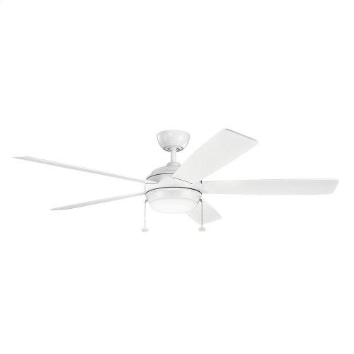 "Starkk Collection 60"" Starkk LED Ceiling Fan MWH"