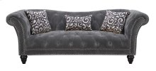 Hutton II - Sofa Nailhead W/2 Pillows & 1 Kidney Pillow