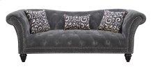 Hutton II - Sofa Nailhead W/2 Pillows & 1 Kidney Pillow
