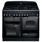 """Black with cathedral doors AGA Legacy 44"""" Dual-Fuel Range Product Image"""