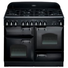 "Black with cathedral doors AGA Legacy 44"" Dual-Fuel Range"