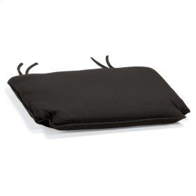 Armchair Cushion - Canvas Black