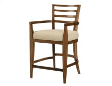 Ladder Back Counter Stool-kd