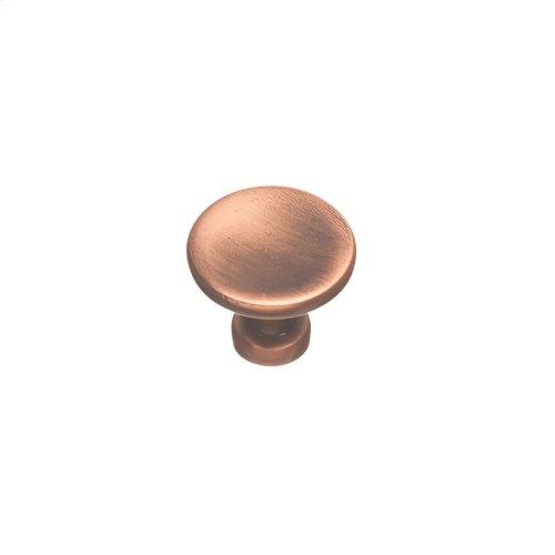 """1 1/4"""" Knob - Antique Copper"""