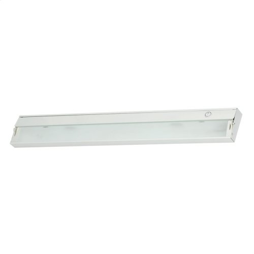 ZeeLite 4-Light Under-cabinet Light in White with Diffused Glass