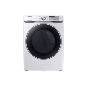 Samsung7.5 cu. ft. Electric Dryer with Steam Sanitize+ in White