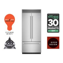 "36"" PRO French Door Built-in Refrigerator/Freezer"
