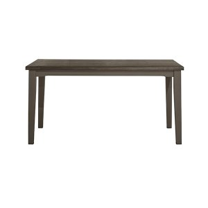 Hillsdale FurnitureClarion Rectangle Dining Table - Wirebrush Multi-step Top With Distressed Gray Base