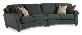 Gretchen Fabric Conversation Sofa