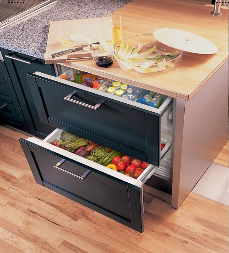 36 Refrigerator Drawers With Air Purification Panel Ready