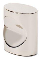 Contemporary III Oval Knob A250-34 - Polished Nickel