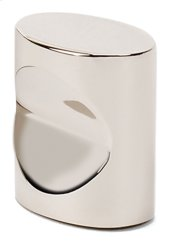 Contemporary III Oval Knob A250-34 - Polished Nickel