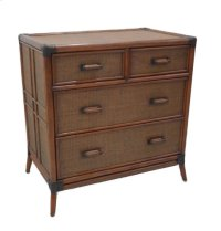 Palm Island Four Drawer Split Chest Product Image
