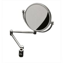 Maidstone Shower Enclosure Riser Mounted Mirror, Chrome