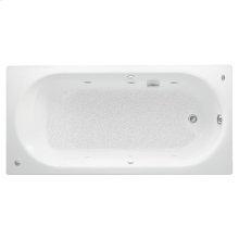 Stratford 66x32 inch Americast Whirlpool Tub - White