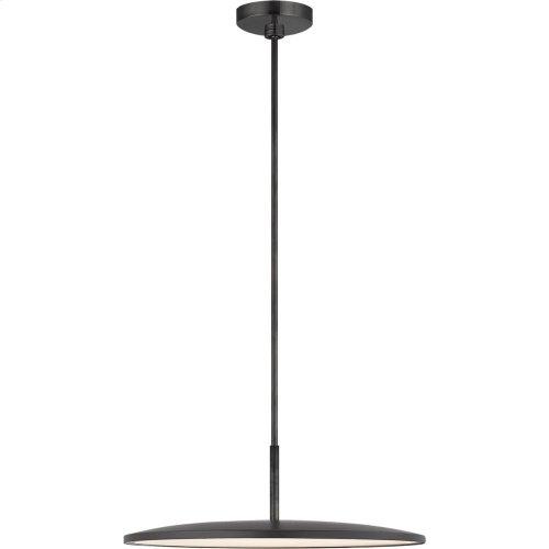 Visual Comfort PB5002MBK Peter Bristol Dot LED 10 inch Matte Black Pendant Ceiling Light