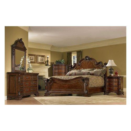 Old World King Estate Bed