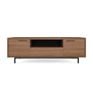 Bdi FurnitureTall Triple Width Cabinet 8329 in Natural Walnut