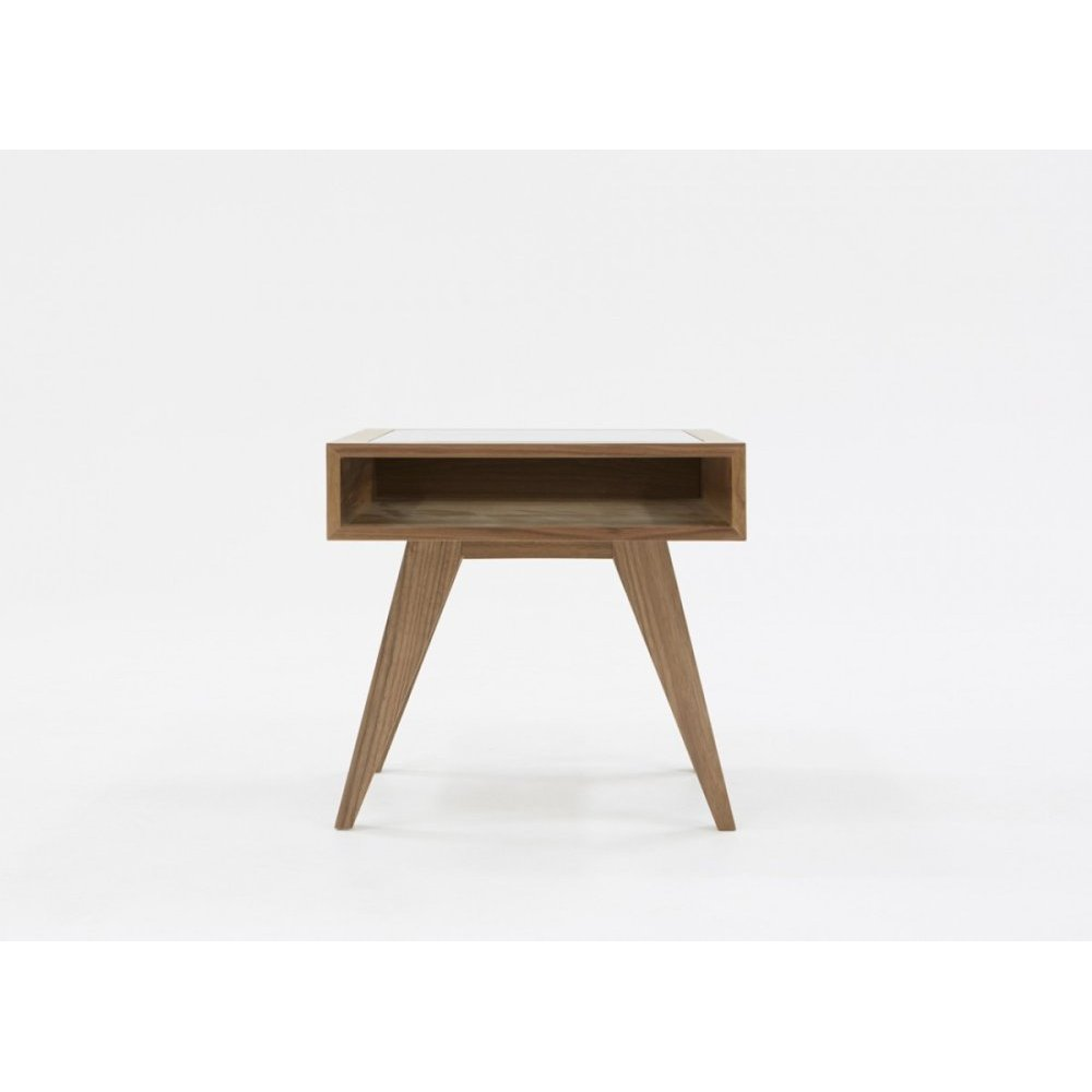 Modrest Dublin Modern Walnut End Table