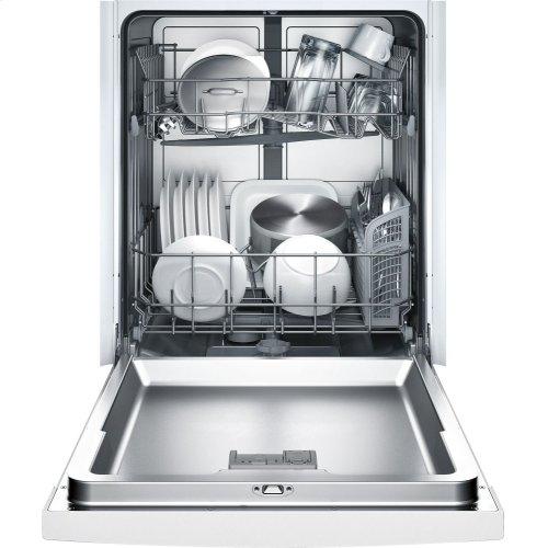 23 5/8 '' Recessed Handle Dishwasher Ascenta- White SHE3AR52UC