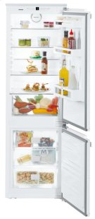 "24"" Combined refrigerator-freezer with NoFrost for integrated use Product Image"