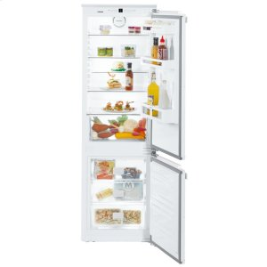 "24"" Combined refrigerator-freezer with NoFrost for integrated use"