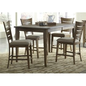 CLEARANCE ITEM--5 Piece Gathering Table Set