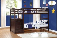 Bunk Bed with Step Storages Product Image