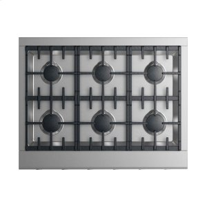 "Fisher & PaykelGas Cooktop 36"", 6 burners (LPG)"