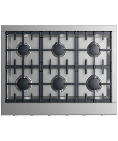 "Gas Rangetop 36"", 6 burners (LPG) Product Image"