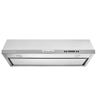 """30"""" Under-the-Cabinet, 4-Speed System - Stainless Steel"""