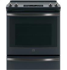 """GE® 30"""" Slide-In Electric Convection Range [OPEN BOX]"""
