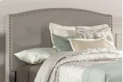 Kerstein Fabric Headboard - King - Headboard Frame Not Included - Dove Gray