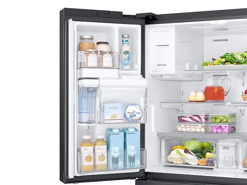 23 cu. ft. Capacity Counter Depth 4-Door French Door Refrigerator