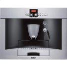 Built-in fully automatic coffee machine stainless steel Product Image