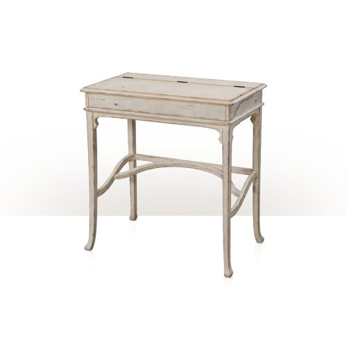 Country House Kaye Campaign Desk - Country House White