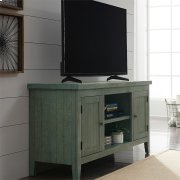 54 Inch TV Console - Green Product Image