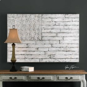 Blanco Hand Painted Canvas