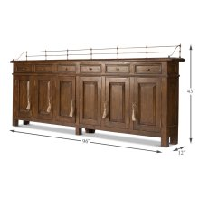 Covent Garden Sideboard, Walnut