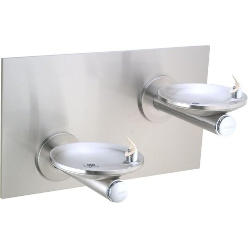 Elkay SwirlFlo Bi-Level Reverse Fountain Non-Filtered, Non-Refrigerated Stainless