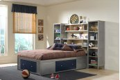 Brayden 5pc Twin Storage Platform Bedroom Suite