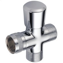 Chrome 3-Way Shower Arm Diverter for Hand Shower