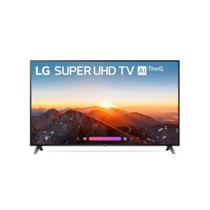 LG AppliancesSK8070AUB 4K HDR Smart LED SUPER UHD TV w/ AI ThinQ® - 75'' Class (74.5'' Diag)