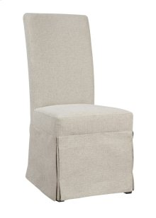 Emerald Home Paladin Parsons Chair Beige Upholstered-setup D350-22