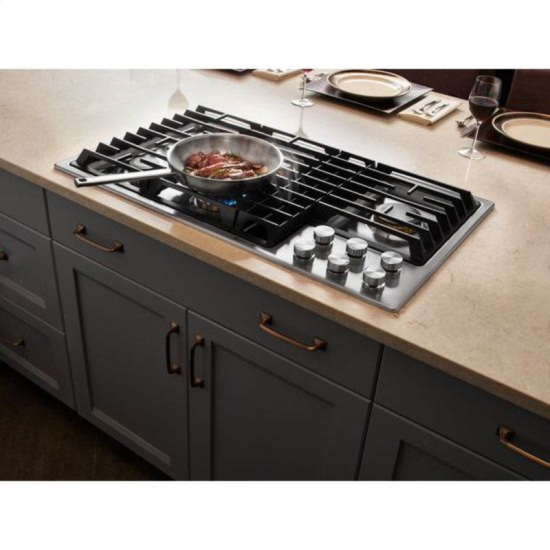 Euro Style 36 Jx3 Gas Downdraft Cooktop