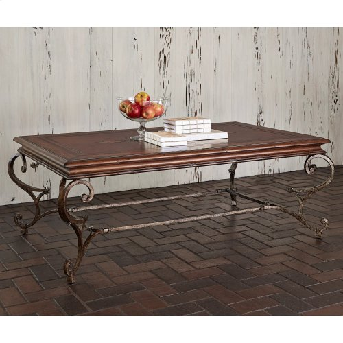 Ferro Cocktail Table