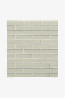 """Optix Watercolors 1"""" x 4"""" Staggered Mosaic STYLE: WCSM14"""