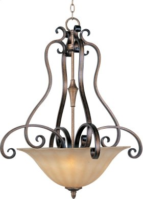 Fremont 3-Light Invert Bowl Pendant